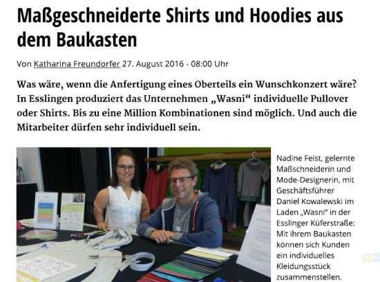 Massgeschneiderte Shirts und Hoodies aus dem Baukasten k